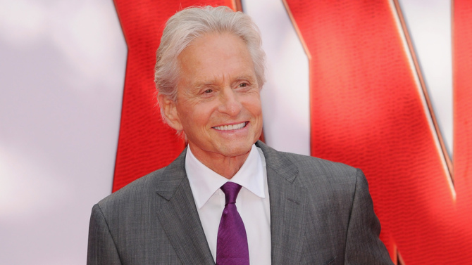 "Actor Panic 2015: Michael Douglas reasons American men too ""asexual"" and ""unisex"" for major film work"